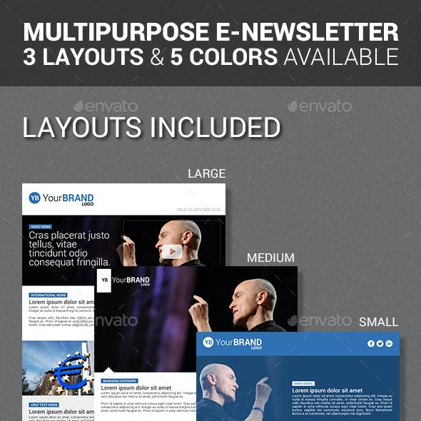 e newsletter e newsletter templates from graphicriver page 3