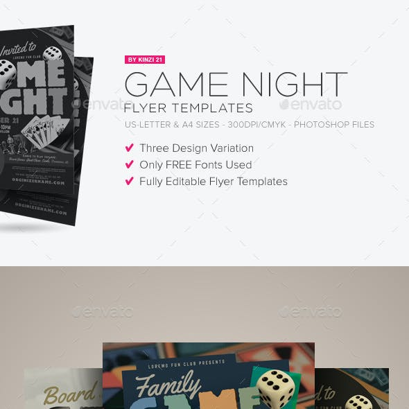 game set stationery and design templates from graphicriver