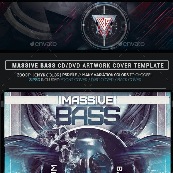 Flyer And Hip Hop CD DVD Artwork Templates From GraphicRiver