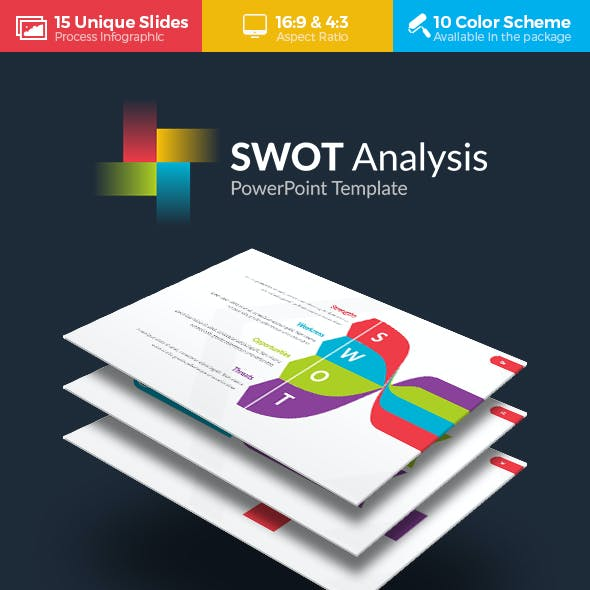 Swot Analysis Powerpoint Templates From Graphicriver