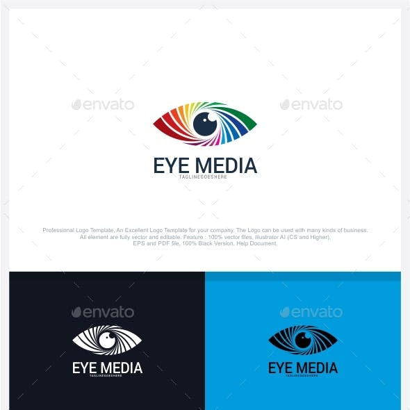 eye camera logo templates from graphicriver