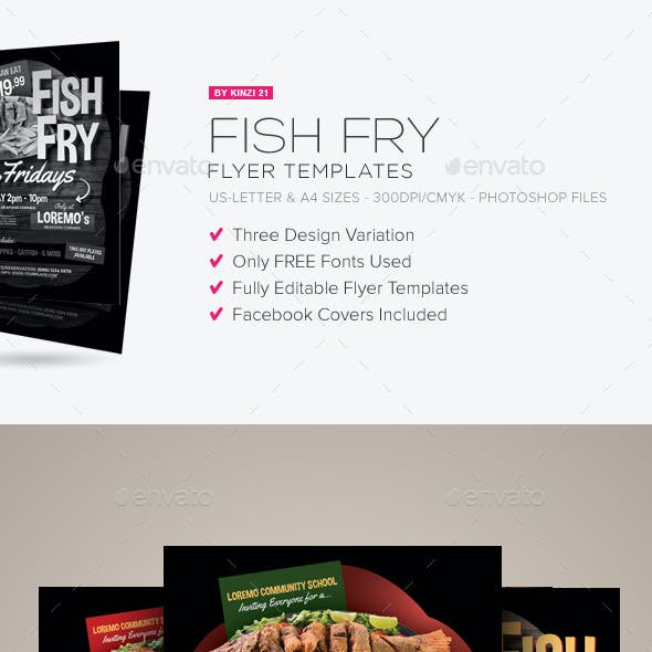 fish fry flyer templates by kinzi21 graphicriver