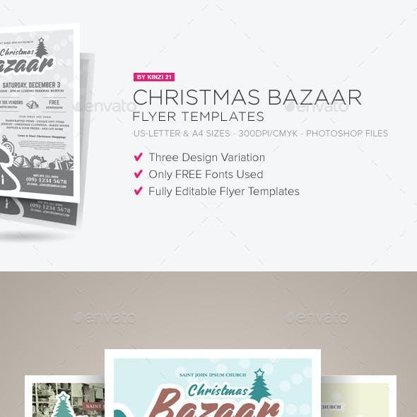 bazaar flyer templates from graphicriver