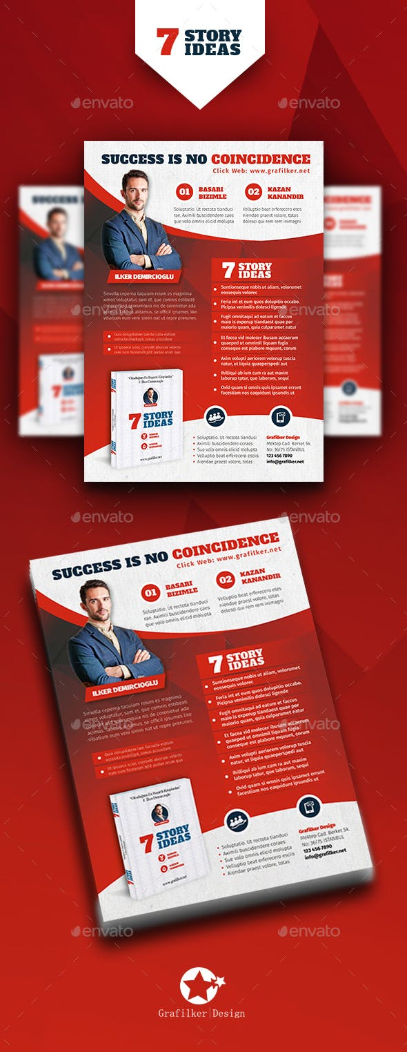 book advertising flyer templates