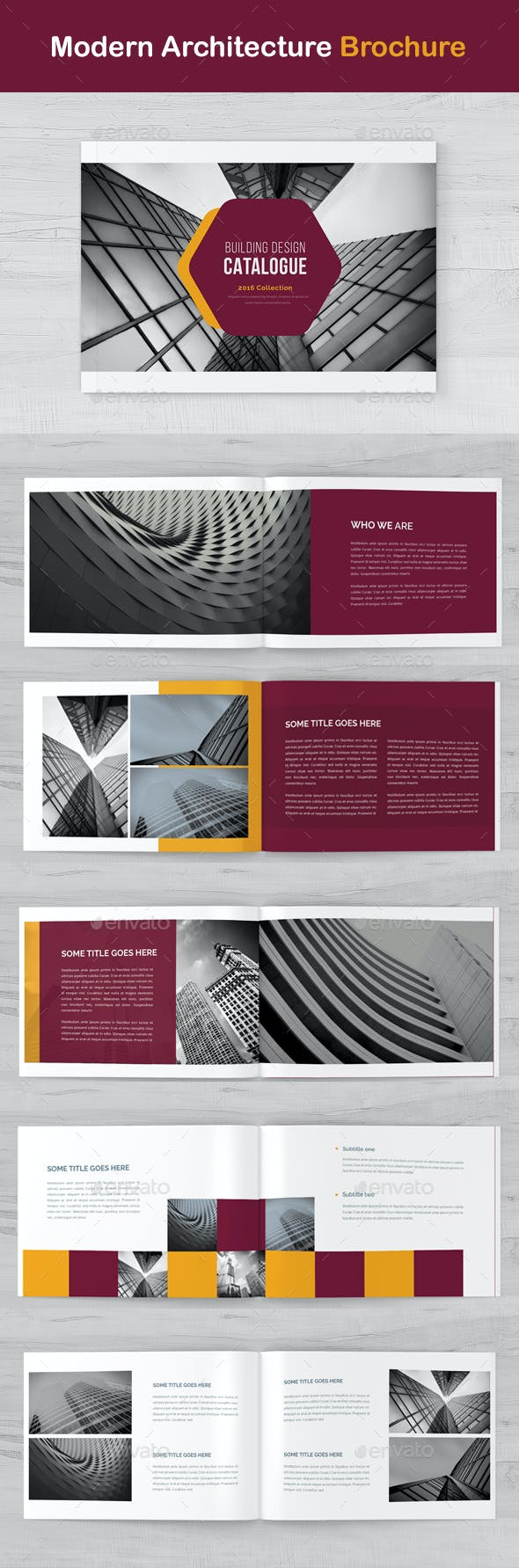 modern architecture brochure by eltawfik2015 graphicriver