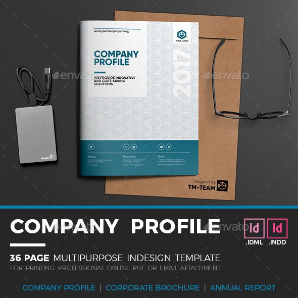 InDesign Brochure Templates from GraphicRiver (Page 11)