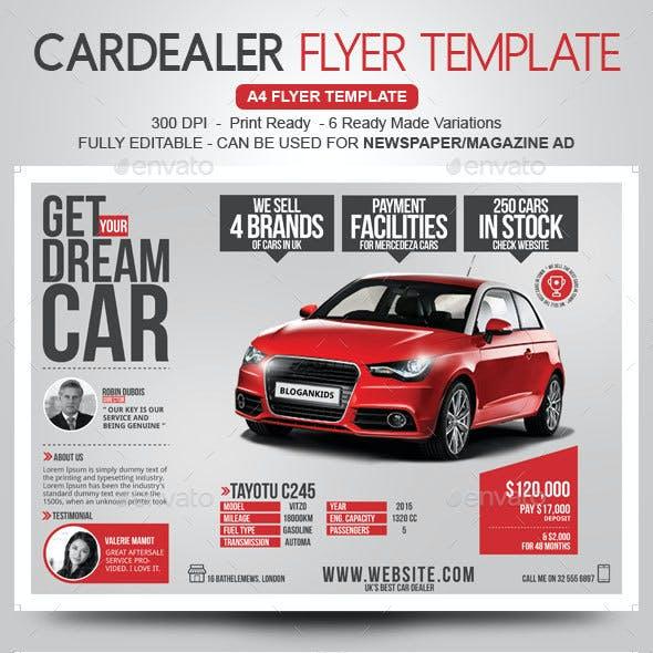 Car Dealer Flyer Magazine Ad By Blogankids Graphicriver