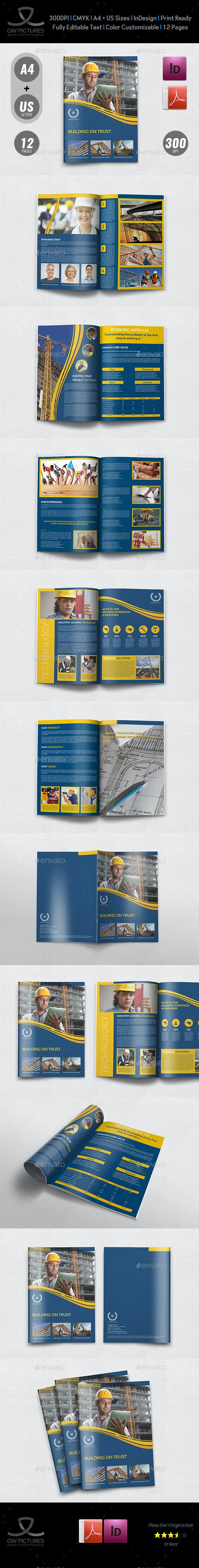construction brochure template vol 3 by owpictures graphicriver