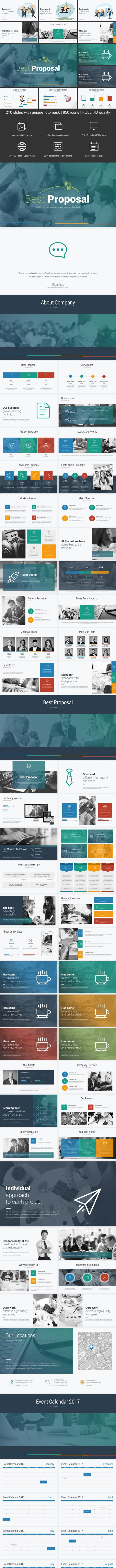 proposal powerpoint template by evgenybagro graphicriver