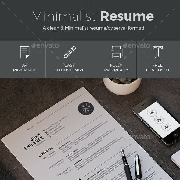 resume stationery and design templates from graphicriver page 7
