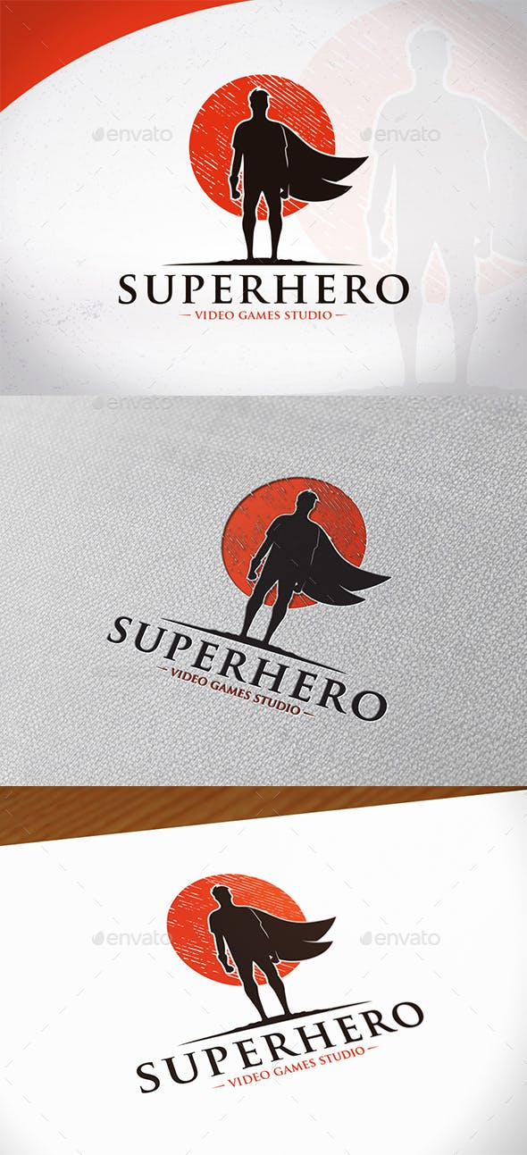 super hero logo template by bosstwinsmusic graphicriver