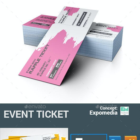 Browse 3 Ticket Template InDesign Graphics Designs Templates From 6 All Our Global Community Of Graphic Designers