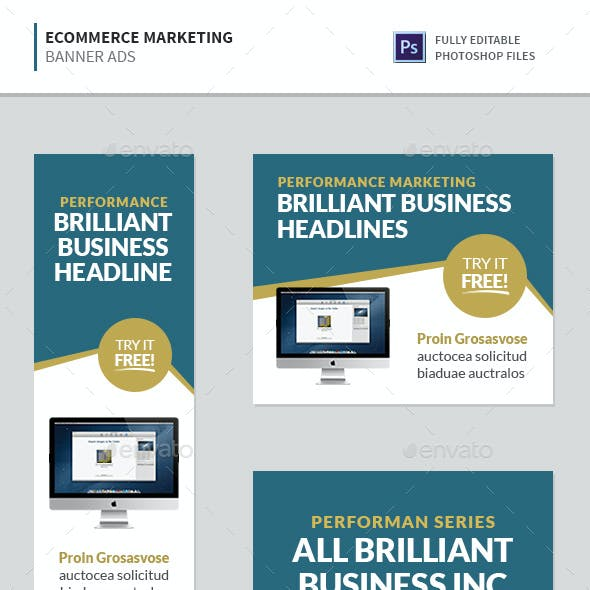 Ecommerce Marketing Banners February Banners