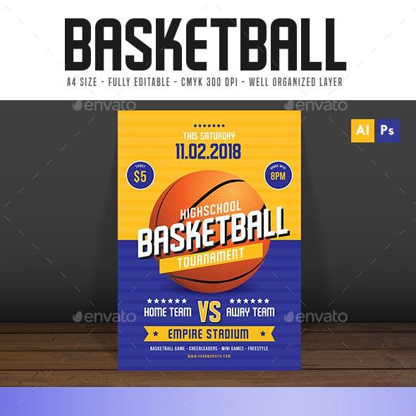 basketball tournament flyer basket and basket ball event flyer templates