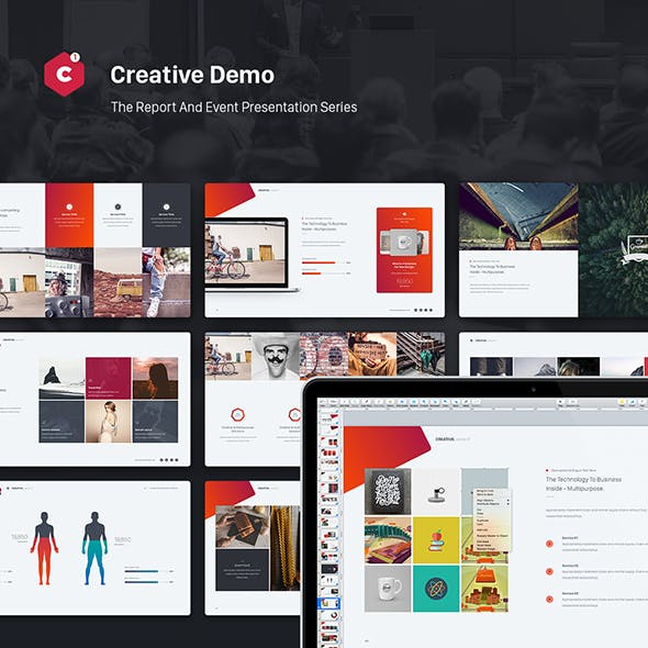 Creative Powerpoint Theme Event Report Theme Series By Simplesmart