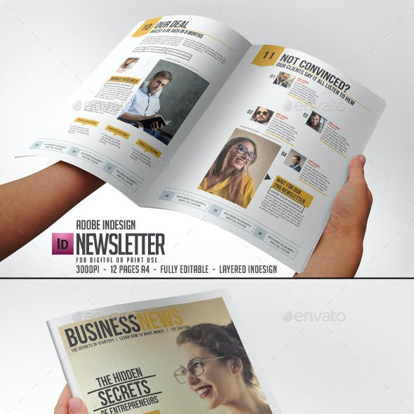 web newsletter templates from graphicriver