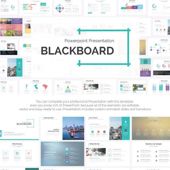 blackboard presentation templates from graphicriver