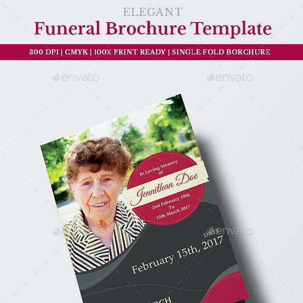 funeral programs template free graphics designs templates