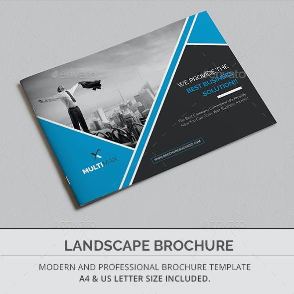 landscape brochure graphics designs templates