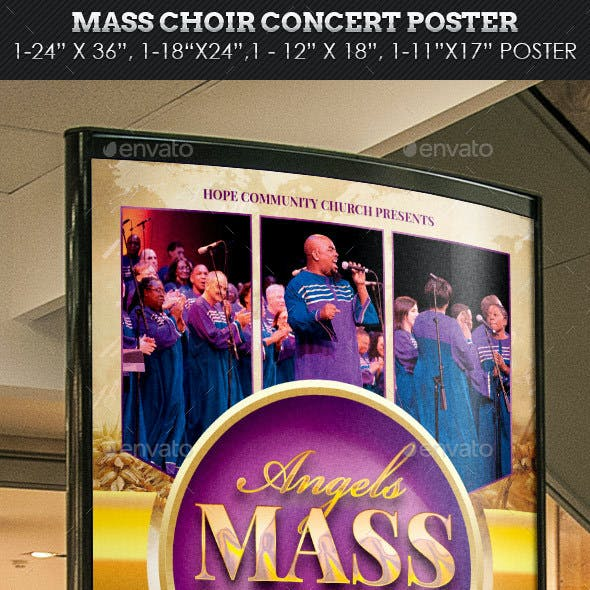 concert poster template graphics designs templates