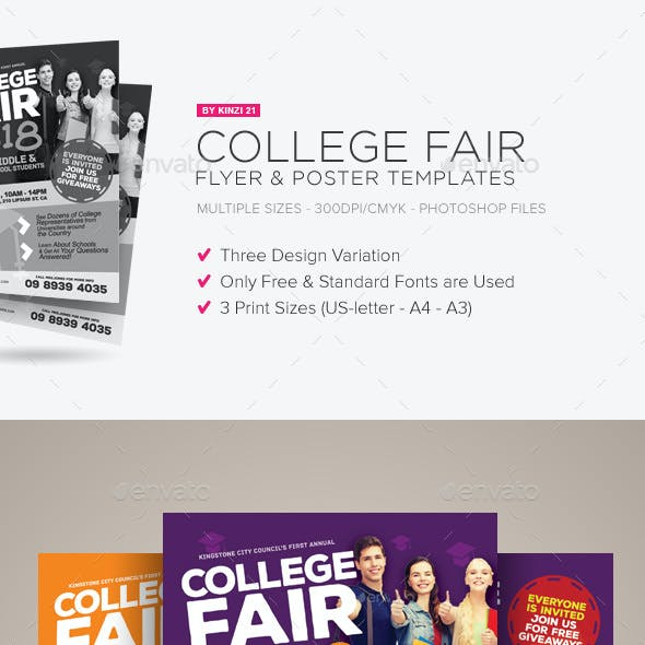 fair advertisement stationery and design templates