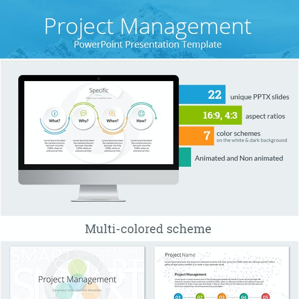project management graphics designs templates
