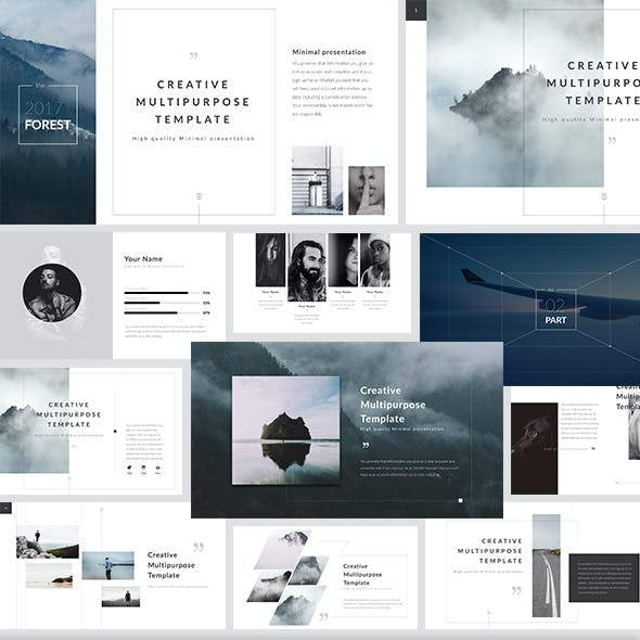 Forest - PowerPoint Presentation Template