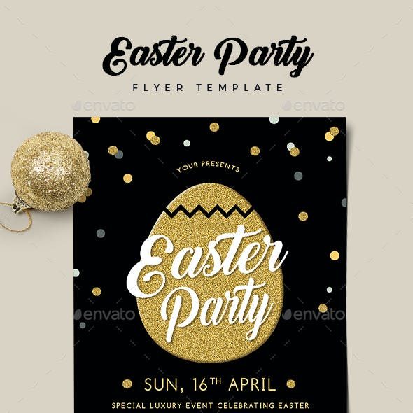Easter Party Flyer 02