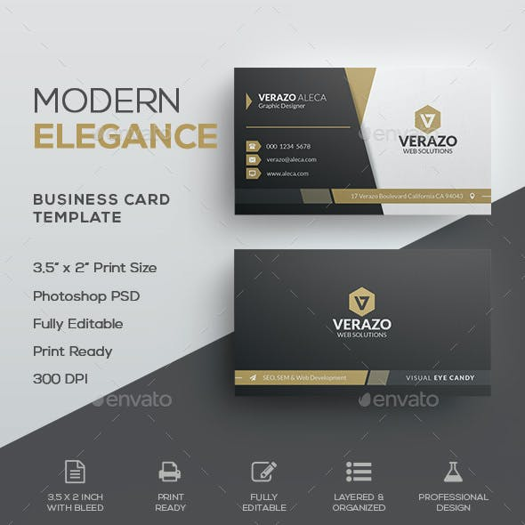 Elegant Business Cards Graphics Designs Templates