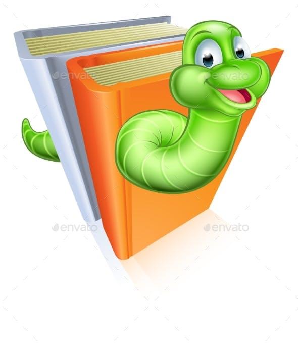 Cartoon Bookworm Concept By Krisdog Graphicriver