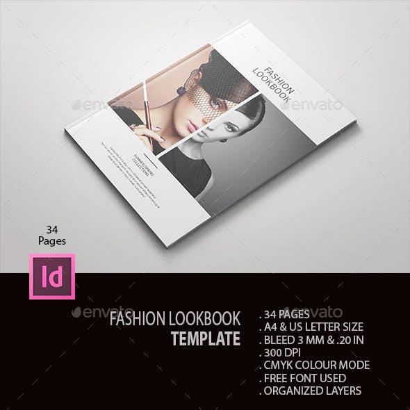 fashion lookbook by bookrak graphicriver