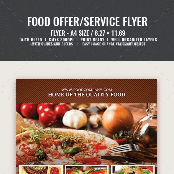 Beef And Pork Flyer Templates From GraphicRiver