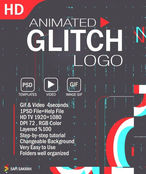 Animated Glitch Text Generator