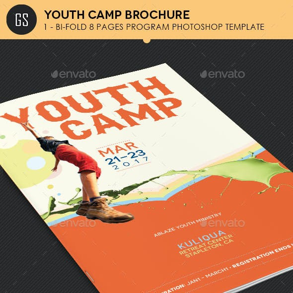 sports camp brochure template.html