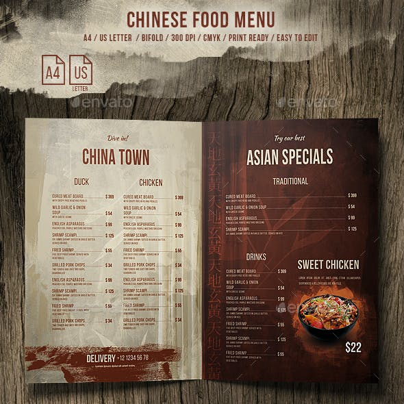 trifold menu templates from graphicriver page 6
