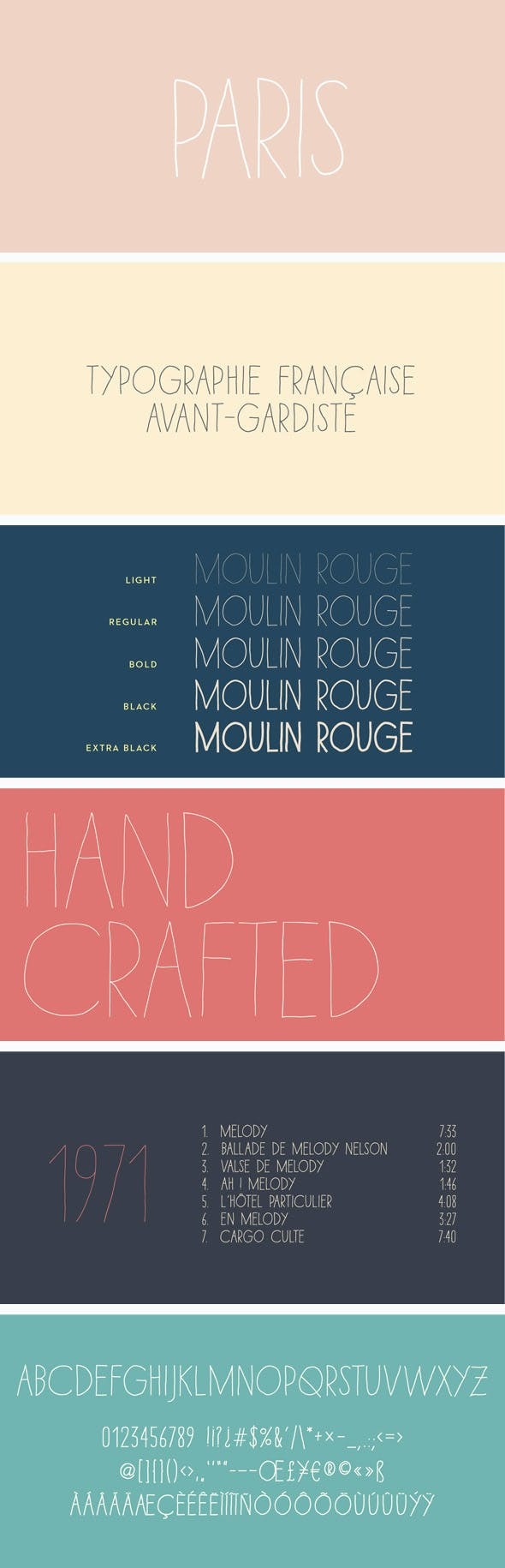 Download Paris Font Pack by SCType | GraphicRiver