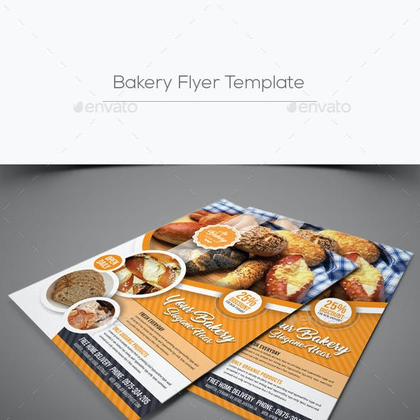 Bakery Brochure Graphics Designs Templates From GraphicRiver