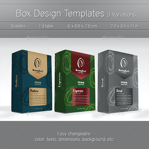 box vector stationery and design templates from graphicriver