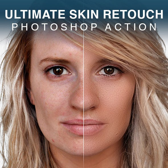 Ultimate Skin Retouch Photoshop Action by Artorius