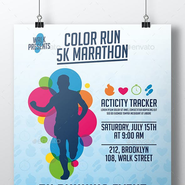 5k run graphics designs templates from graphicriver