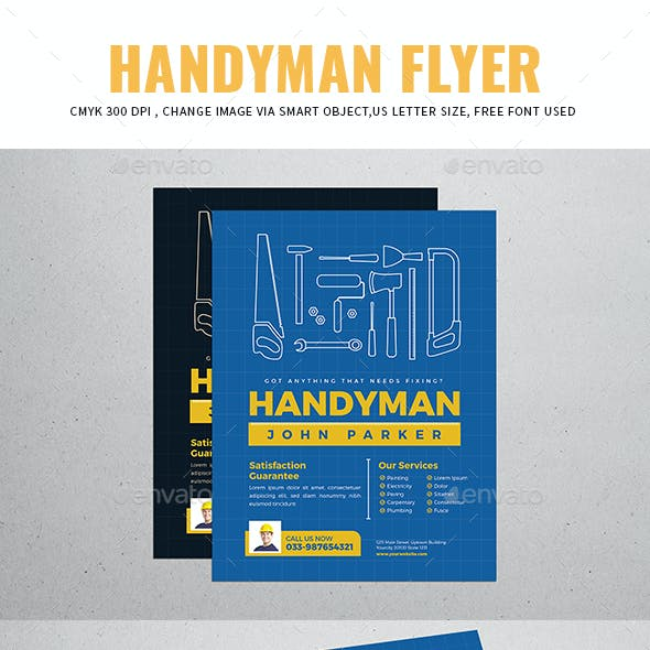 Carpenter Plumber Stationery And Design Templates