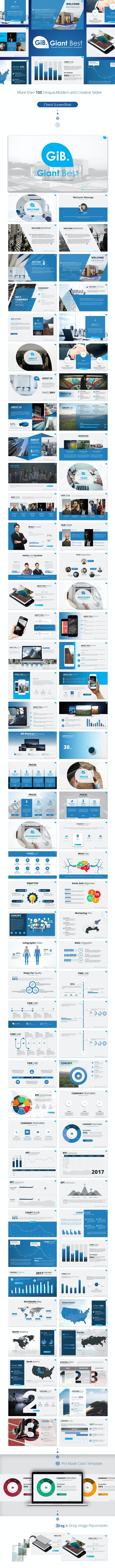 giant best powerpoint presentation template by premast graphicriver