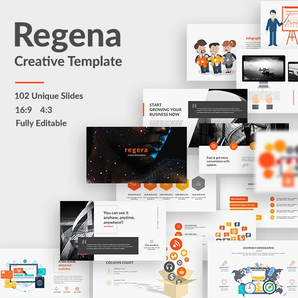 slide deck graphics designs templates from graphicriver
