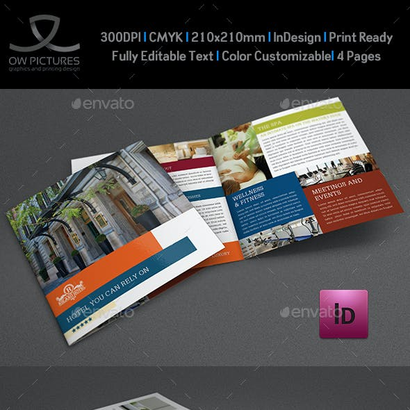 Hotel Brochure Graphics Designs Templates From Graphicriver