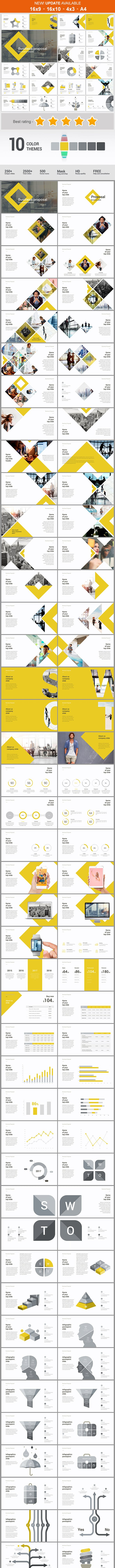 Business Proposal Powerpoint Template By Malis Graphicriver