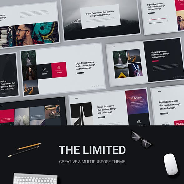 limited creative modern powerpoint template by simplesmart