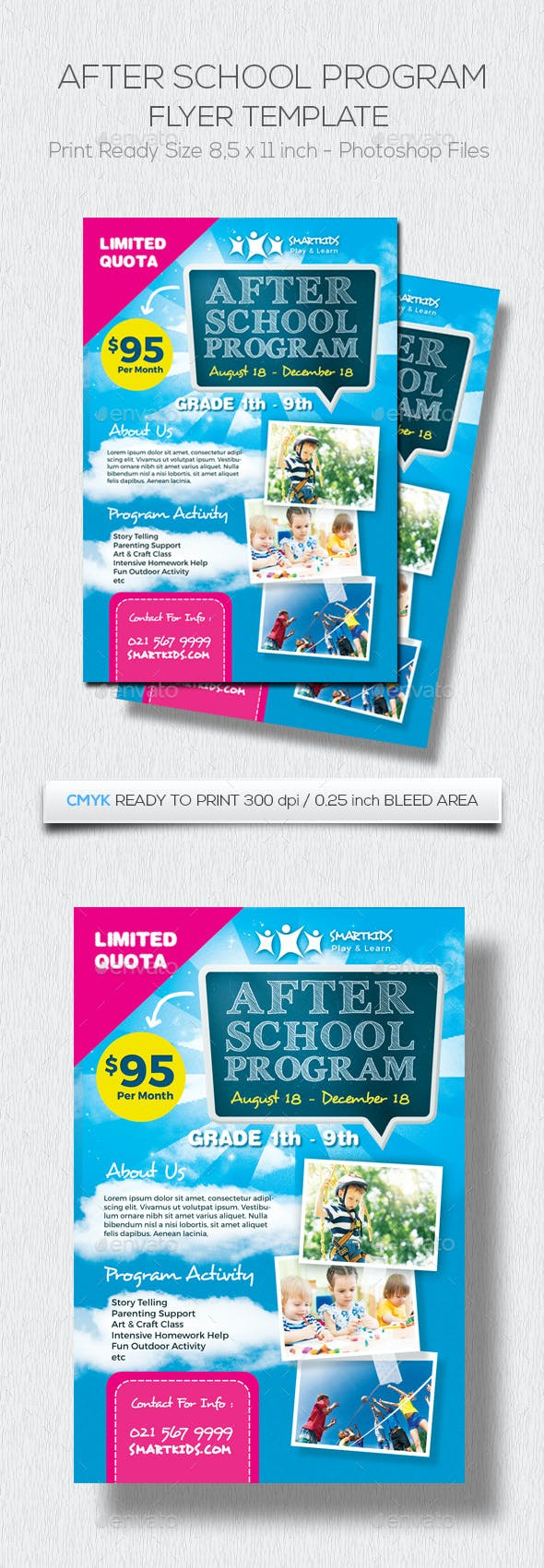After School Program By Vindday Graphicriver
