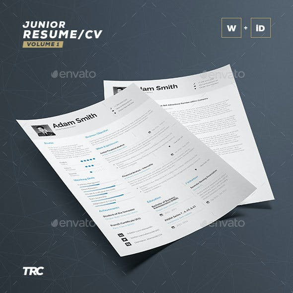 Resume template indesign graphics designs templates resume cv template word and indesign maxwellsz