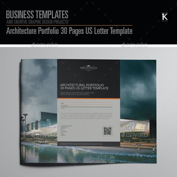 architecture portfolio stationery and design templates page 2