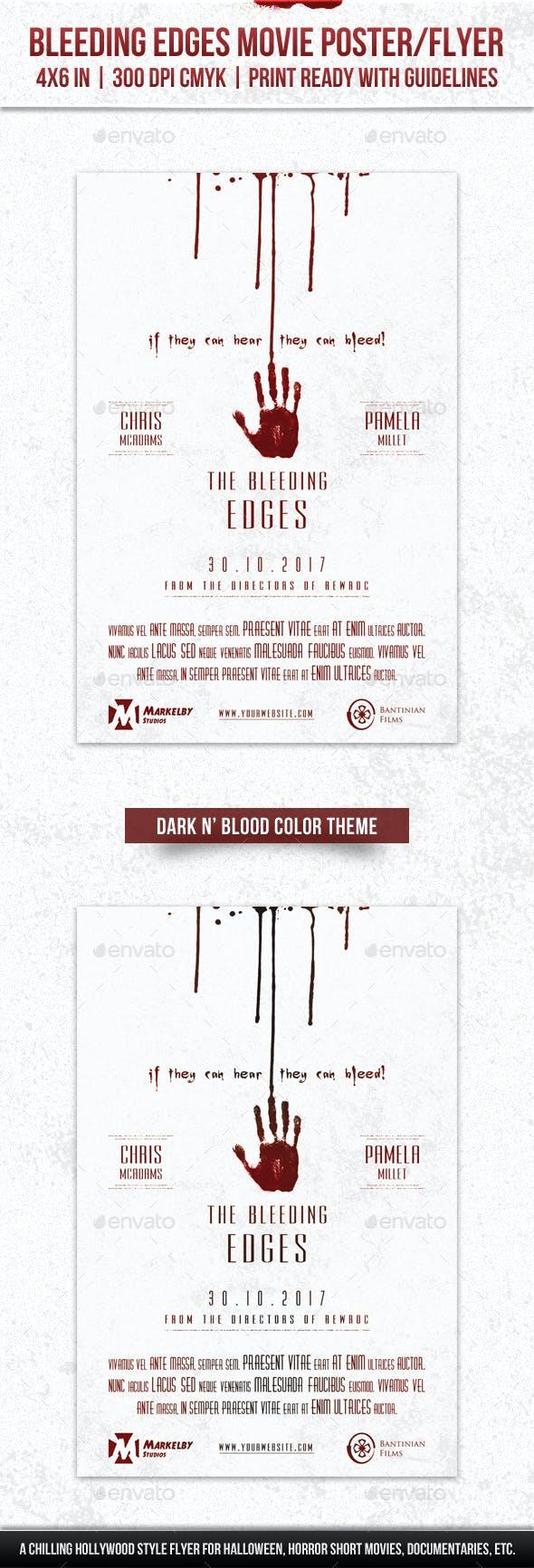 Bleeding Edges Movie Poster Flyer